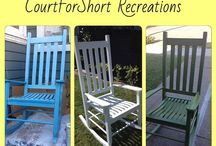 CourtForShort Recreations / Upcycle Recycle Refurbished furniture pieces  / by Courtney Dimiceli