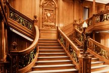 Classic Element in Titanic Grand Staircase Design
