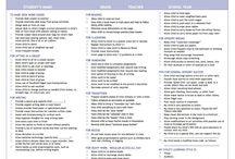 strategies worksheet
