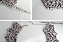 Crochet collars & jewellery