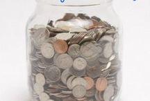 Everyday I'm hustling / Money related. Saving money, budgeting, etc / by Monica Kamka