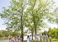Combsberry Waterfront Lawn Wedding / Our historic Inn overlooks Bringman's Cove, a tributary to the Choptank River which makes for breathtaking waterfront weddings. Say 'I do' in front of our grand trees, get your pictures taken on our pier, and then relax by the water in our Adirondack chairs.