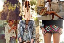 Look Boho Folk Chic