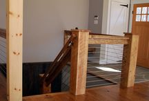 Our Favorite Handrails / http://thecatskillfarms.com/gallery-handrails-and-stairs