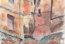 Watercolors / watercolor paintings