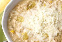 Comfort Food / soups, casseroles and interesting recipes.
