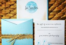 Chic Ink: Calling Cards and Stationery / Letterpress business cards, stationery, and more from Chic Ink