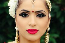 Beauty Shots of Brides  / Close up shots of our beautiful Indian Brides