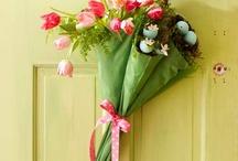 Fake flowers - just like my mama had them
