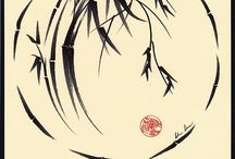 sumi-e, chinese paintings & japanese paintings