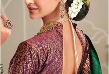 INDIAN TRADITIONAL WEAR PINS / Get the idea to look super cool and gorgeous by traditional Indian dress ♥♦♥♦