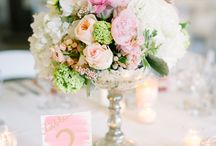 Small Flower Center Pieces
