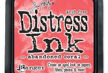 Distress ink inventory