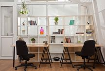 Work From Home (Comfortable home offices) / Not having an office doesn't have to be dull. Make any space a more comfortable working environment by getting inspirations from any of these. Work from home, WFH