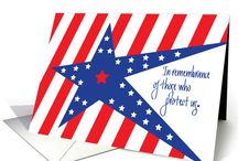 Veterans Day / A holiday to remember and honor all who have served in the U.S. armed forces and military services to earn, protect and preserve the right to freedom.  Heartfelt sayings, images, celebration ideas and greeting cards for this patriotic holiday.
