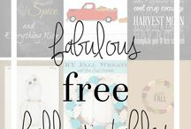 Free Printables/Graphics/Transfers
