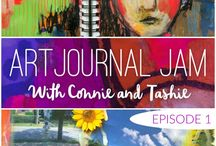 Art Journal Jam / We're doing this every Friday! Grab your art journal & jam with us!