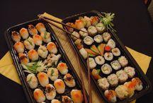 Mis sushis clasicos / rolls,niguiris,flores de salmon,etc.