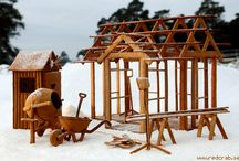 Amazing gingerbread houses and ideas / pepparkakshus / A collection of some of the most creative gingerbread creations out there. And it does not need to be houses, buildings or churches..