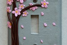 Polymer Clay - Switch Plates / by Sharon Falk