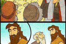 Hittan / Illusztrációk bibliai történetekhez