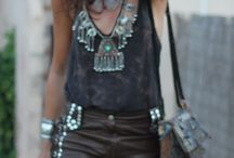 Boho Californian / mixing the old free spirit of the Californians and fashion