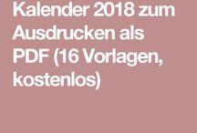 0173Foxy03 Kalender 2018