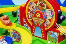 アンパンマンランドで遊ぼう!❤アニメ&おもちゃ