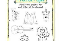 Alphabet ideas / Preschool Alphabet :)  / Alphabet teaching ideas / by Pam Hyer