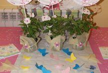 BABY SHOWER NENA / Baby shower dulce y encantador con aires de mariposas...