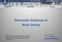 Domestic Violence / In 1991, the State of New Jersey passed the Prevention of Domestic Violence Act to address violence between spouses and couples that live together.  The Act provides two forms of relief.  The first form of relief is Civil relief in the form of Temporary and Permanent Restraining Orders.  The second form of relief is Criminal relief in which the accused is charged criminally.