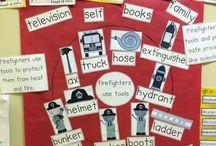 Kindergarten theme COMMUNITY HELPERS