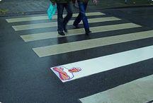 Street marketing / Les nouvelles formes de publicité dans nos rues.