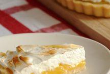 Receitas sem glúten / Torta de limão (com glúten )