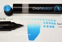 Chameleon Color Tones Pens - My Design Work