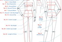 body measurement sewing