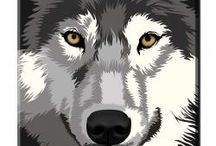 Wolves / Wolf Gifts, Wolf Art, Beautiful Wolf pictures...anything to do with Wolves!