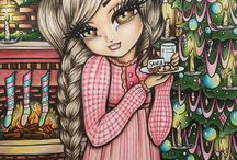A Whimsy Girls Christmas by Hannah Lynn