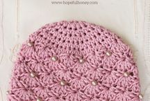 crochet newborn girl hat