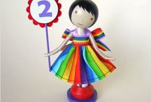Clothes Pin Dolls / by Vickie Nicholas