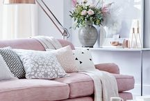 Blush, grey & copper