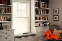 Окно и шкафы