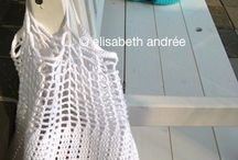crochet / knit bag