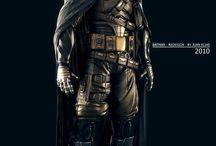 Bat-Universe / Sélection d'images inspirées de l'univers du Chevalier Noir.