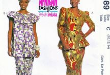 African Fashions Sewing Patterns