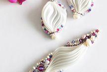 naušnice,náhrdelníky