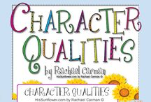Character Qualities By Rachael Carman / by Apologia
