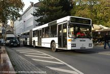 Bonn - Mercedes-Benz O405GN2 (Baujahr 1994, 1996, 1999) / Sie sehen hier eine Auswahl meiner Fotos, mehr davon finden Sie auf meiner Internetseite www.europa-fotografiert.de.