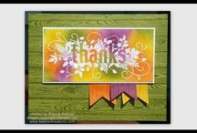 craft - Stampin Up Seasonally Scattered