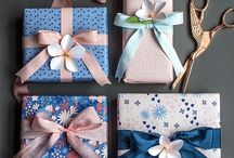 Handmade gift packing